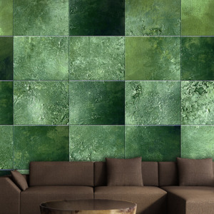 Tapet - Green Puzzle role 50x1000 cm