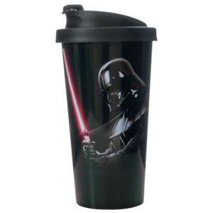 Cană de călătorie LEGO® Star Wars Darth Vader, 500 ml