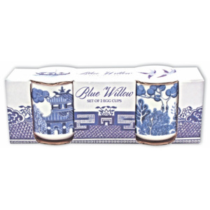 Set 2 suporturi ou Gift Republic Blue Willow