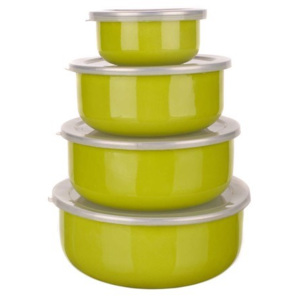 Set caserole email Belly 8 piese, verde