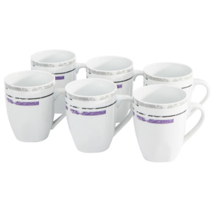 Domestic Set căni 6 piese Margita, 310 ml