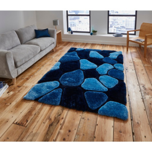 Covor Think Rugs Noble House,120 x 170 cm, albastru