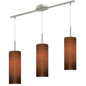 EGLO 88705 - Lampa suspendata BROWN SUGAR 3xE27/60W