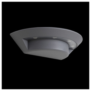 LUXERA 70129 - LED Corp de iluminat perete exterior GHOST 4xLED/3W