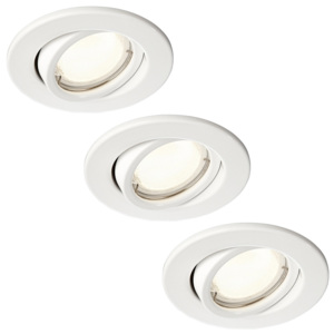 Philips Massive 59543/31/10 -SET 3x Lampa incastrata PIXIE 3xGU10/10W/230V