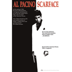 Scarface - movie Poster, (61 x 91,5 cm)