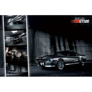Easton - shelby gt 500 Poster, (91,5 x 61 cm)