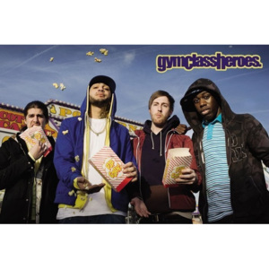 Gym Class heroes - popcorn Poster, (91 x 61 cm)