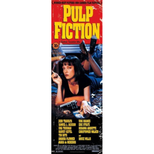 PULP FICTION - cover Poster, (53 x 158 cm)