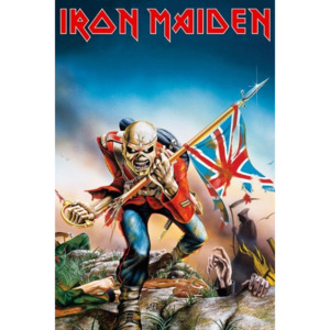 IRON MAIDEN - trooper Poster, (61 x 91,5 cm)
