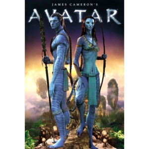 Avatar limited ed. - couple Poster, (61 x 91,5 cm)