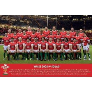 Wales - 2008/2009 Team Poster, (91,5 x 61 cm)