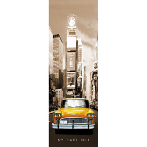 New York taxi no.1 Poster, (53 x 158 cm)