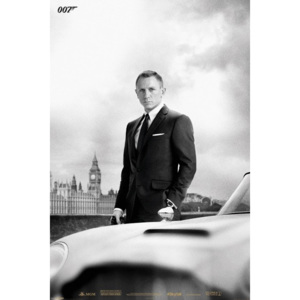 JAMES BOND 007 - skyfall / bond & DB5 Poster, (61 x 91,5 cm)