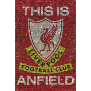 Liverpool - mosaic Poster, (61 x 91,5 cm)