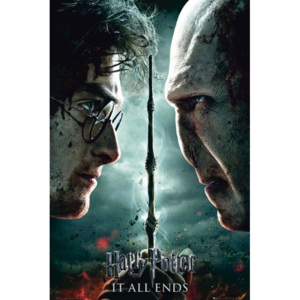 HARRY POTTER 7 - part 2 teaser Poster, (61 x 91,5 cm)