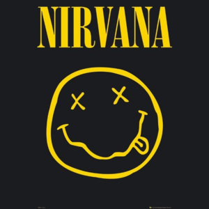 Nirvana – smiley Poster, (61 x 91,5 cm)