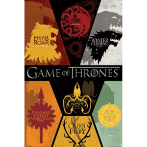 GAME OF THRONES - sigils Poster, (61 x 91,5 cm)
