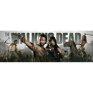 THE WALKING DEAD - Banner Poster, (158 x 53 cm)