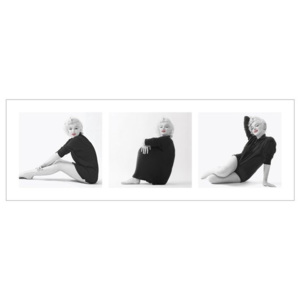 Marilyn Monroe - Sweater Triptych Reproducere, (95 x 33 cm)