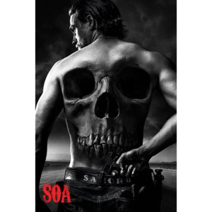 Sons of Anarchy - Jax Back Poster, (61 x 91,5 cm)