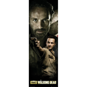 THE WALKING DEAD - rick Poster, (53 x 158 cm)