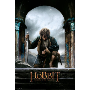 The Hobbit 3: Battle of Five Armies - Bilbo Poster, (61 x 91,5 cm)