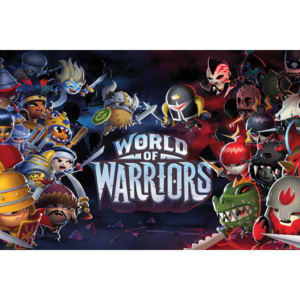 World of Warriors - Characters Poster, (91,5 x 61 cm)