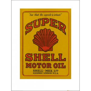 Shell - Adopt The Golden Standard, 1925 Reproducere, (60 x 80 cm)