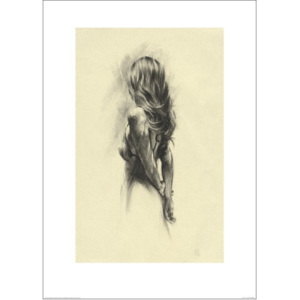 Woman - Back Reproducere, (50 x 70 cm)