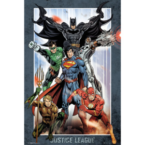 DC Comics - Justice League Group Poster, (61 x 91,5 cm)