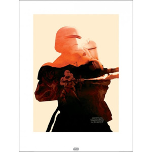 Star Wars Episode VII: The Force Awakens - Flametrooper Tri Reproducere, (60 x 80 cm)