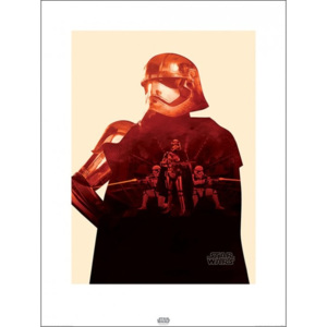Star Wars Episode VII: The Force Awakens - Captain Phasma Tri Reproducere, (60 x 80 cm)