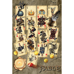 Fable - Playing Cards Poster, (61 x 91,5 cm)