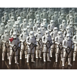 Star Wars Episode VII: The Force Awakens - Stormtrooper Army Poster, (50 x 40 cm)