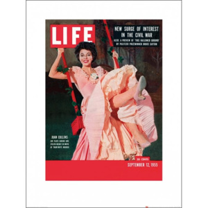 Time Life - Life Cover - Joan Collins Reproducere, (60 x 80 cm)