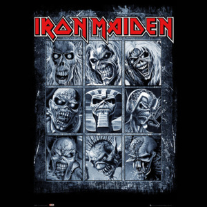 Iron Maiden - Eddies Poster, (61 x 91,5 cm)