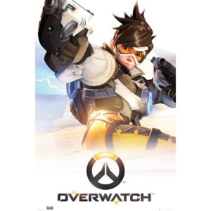 Overwatch - Tracer Poster, (61 x 91,5 cm)