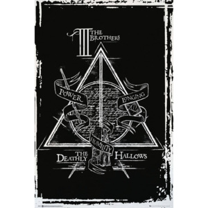 Harry Potter - Deathly Hallows Graphic Poster, (61 x 91,5 cm)