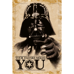 Star Wars - Your Empire Needs You Poster, (61 x 91,5 cm)