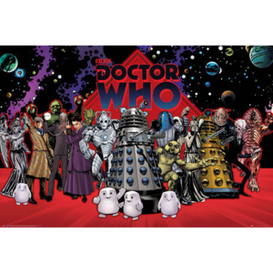 Doctor Who - Compilation Poster, (91,5 x 61 cm)