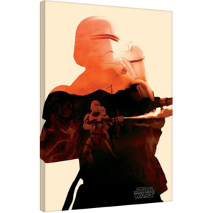 Star Wars Episode VII: The Force Awakens - Chewbaca Tri Tablou Canvas, (60 x 80 cm)