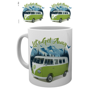 VW Camper - Lets Get Away Cană