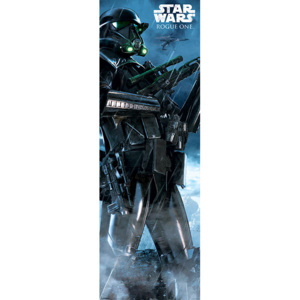 Rogue One: Star Wars Story - Death Trooper Rain Poster, (53 x 158 cm)