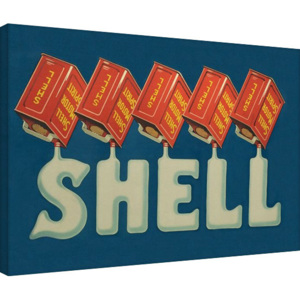 Shell - Five Cans 'Shell', 1920 Tablou Canvas, (80 x 60 cm)