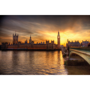 London - Big Ben Parliament Poster, (91,5 x 61 cm)