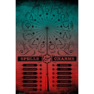 Harry Potter - Spells And Charms Poster, (61 x 91,5 cm)