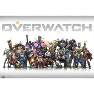 Overwatch - Characters Centred Poster, (91.5 x 61 cm)