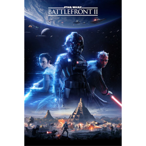 Star Wars Battlefront 2 - Game Cover Poster, (61 x 91,5 cm)