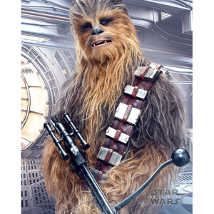 Star Wars The Last Jedi - Chewbacca Bowcaster Poster, (40 x 50 cm)